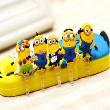 5pcs Dustproof Earphones Wholesale Cute Anti Dust Minions Cartoon Plugs Stopper