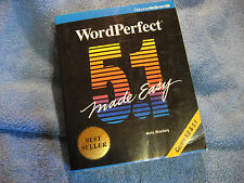 WordPerfect 5.1 Made Easy by Mella Mincberg 1990 Card Cover - 1072 pgs