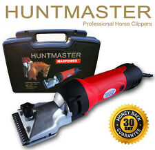 Huntmaster Ex Demo horse clippers/yard clippers heavy duty 2 sets clipper blades