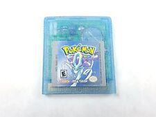 Pokemon Crystal Version Nintendo Game Boy Color 2001