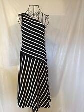 NWT LAUREN RALPH LAUREN Black White Women's Dress (XL) $185.00 MSRP.....Halter