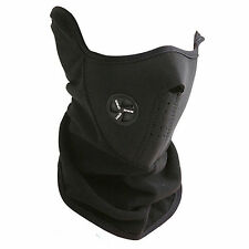 Black Ski Snowboard Motorcycle Bicycle Winter Neck Warmer Warm Sport Face Mask J