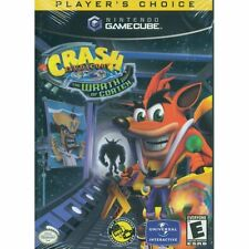 GameCube Crash Bandicoot The Wrath Of Cortex Player's Choice  **FREE SHIPPING**