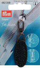 1 Fashion Zipper Nr. 482359 schwarz Reißverschluß  Prym Reißer Lederimitat nähen
