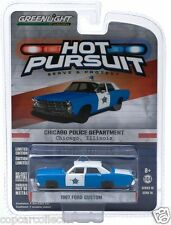 Greenlight 1/64 Chicago, IL Police 1967 Ford Custom  Hot Pursuit Series 16