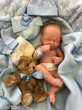 "BLING BABY BOY BERENGUER  NOT A REBORN 14"" PLAY DOLL PREM ANATOMICALLY CORRECT"