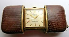 VINTAGE 1950 WOMENS CANAVA 17 JEWELS PURSE BAG WATCH MADE IN CANADA