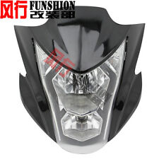 New Headlight Fairing Light Lamp Cowling For Kawasaki ER-6N 2012 2013 2014 Black