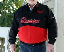 "Dale Earnhardt ""The Intimidator"" Mens XL black & red jacket NASCAR Winston Cup"