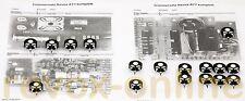 Trimmersatz, alle Trimmer für alle Studer Revox A77 (MK I - MK IV)