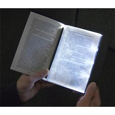 3 Super Bright LED Slim Page Reading Light Night Book Lamp Torch Soft Lighting