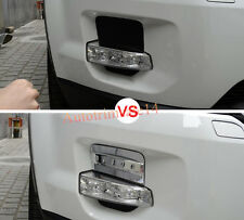 4pcs ABS Front Fog Light Cover Trim For Land Rover Range Rover Evoque 11-15