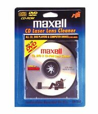 Maxell CD-340 Laser Lens Cleaner Accessories