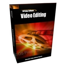 Edición De Video Movie Studio editar Cut Master de software para PC, Mac Osx