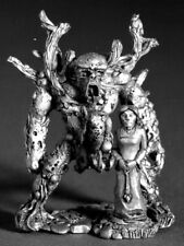 RAFM Miniatures Earth Elemental And Earth Priestess