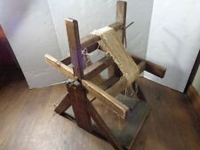 SWIFT Spinning Wheel 20 inch Wooden Vintage for skeining spun yarn