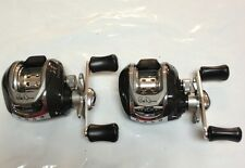 (2) Quantum DS301CX Left-Handed Baitcasting Reels 6.2:1 Bill Dance Signature
