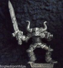 1990 Marauder MM91 Chaos Warrior A Warhammer Army Evil Hordes Champion Fighter
