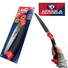 SPEAR AND JACKSON RAZORSHARP FOLDING SAW PRUNING CAMPING BRANCHES & GREEN WOOD