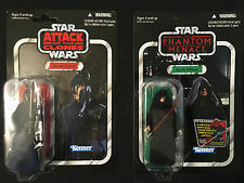 Star Wars Vintage Collection Darth Sidious & Senate Guard 2 figure Sith lot OTC