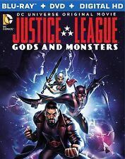 Justice League: Gods and Monsters (Blu-ray + DVD + Digital HD UltraViolet Com...