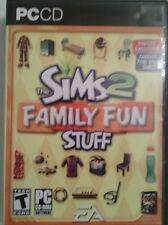 Sims 2 Family Fun Stuff PC CD-ROM Expansion Pack (Requires The Sims 2) Teen Game