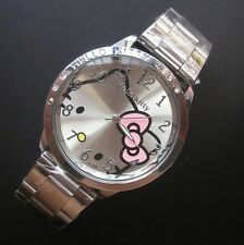 Reloj Hello Kitty watch en acero. Steel case watch A2086