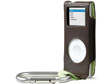 Belkin Leather Carabiner Case for Ipod Nano 1G 2G 1st 2nd Gen Peat F8Z057-PL
