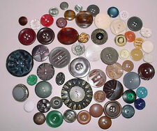 HUGE LOT of old vintage antique buttons  Mother of Pearl Bakelite SORTED!