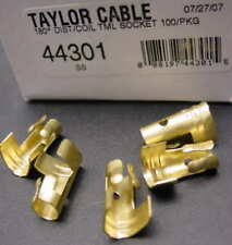 Package straight spark plug wire distributor & coil brass terminals