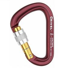 GRIVEL DELTA KEYLOCK LOCKING CARBINER climbing gear