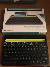 Logitech - K480 Bluetooth Multidevice Keyboard