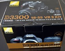 New NIKON D3300 24.2 DSLR Camera w/18-55mm VR Lens Kit- **Store Demo***