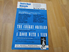 Cherry Orhard & Room With a View  Theatre Royal  NEWCASTLE  Original  Poster