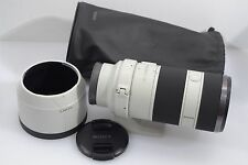 MINT- SONY SEL 70-200mm f4 FE G OSS LENS, GORGEOUS, BARELY USED, w/HOOD & POUCH