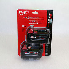NEW IN SEALED PACKAGE Milwaukee (2) 48-11-1850 M18 5.0AH Batteries 2-PACK 18V