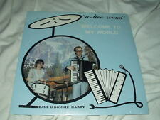 DAVE & BONNIE HARRY Welcome to My World SEALED LP Private Campy Outsider Yodel