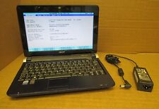 Acer-Aspire One-Cpu Intel Atom N280 @ 1.66 GHz 1024MB Ram 160 Gb Hdd Netbook