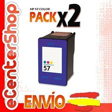 2 Cartuchos Tinta Color HP 57XL Reman HP Deskjet 5550 C