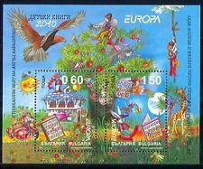 Bulgaria 2010 Europa/Animation/Birds/Books m/s (n30848)