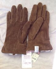American Eagle Outfitters Men's Brown Leather Gloves Onesize