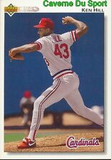 628 KEN HILL ST. LOUIS CARDINALS BASEBALL CARD UPPER DECK 1992