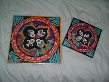 KISS Rock And Roll Over '76 ORIGINAL US press w/ EXTREME RARE STICKER SHRINK NM-