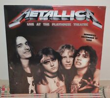 METALLICA - Live At The Playhouse 1986, Ltd Import 2LP BLACK VINYL New & Sealed!