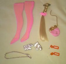 VINTAGE MOD BARBIE ALL THE TRIMMINGS ACCESSORIES MINTY $42.99