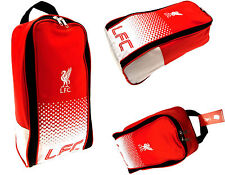 LIVERPOOL FC FOOTBALL SHIN PAD BOOT BAG KIDS SCHOOL LFC GYM PE KIT BOOTBAG