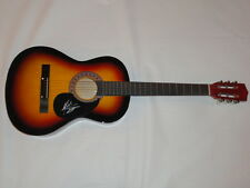 MICHAEL RAY SIGNED FULL-SIZE SUNBURST ACOUSTIC GUITAR COUNTRY SUPERSTAR KISS YOU