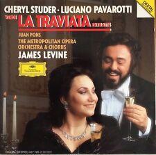 Verdi : La Traviata Extraits - Cheryl Studer - Luciano Pavarotti - CD