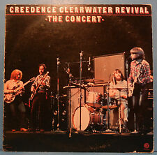 CEREEDENCE CLEARWATER REVIVAL THE CONCERT VINYL LP 1980 NICE COND! VG/VG!!
