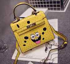 Women's Korean fashion ladies bag SpongeBob handbag cartoon bag Messenger bags